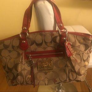 Coach duffel bag women